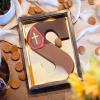 Afbeelding van Chocoladeletter Conny Kiezen met hazelnoot