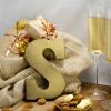 Afbeelding van Chocoladeletter Champagne