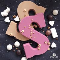 Foto van WORKSHOP Chocoladeletters maken