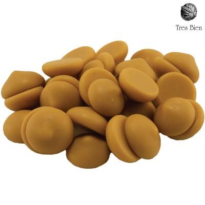 Druppels chocolade gold