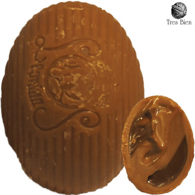 Foto van Hazelnootpasta Chocolade Eitjes