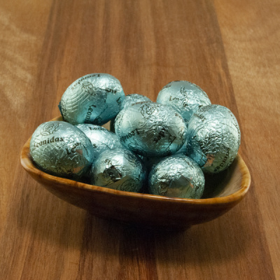 Karamel Chocolade Eitjes