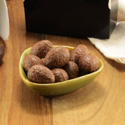 Foto van Melk Chocolade Eitjes Suikervrij