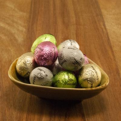 Leonidas Chocolade Eitjes Gemengd - Wit