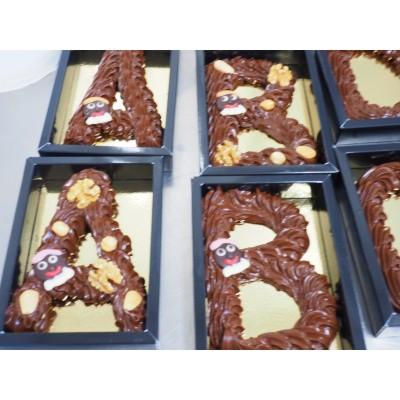 Chocolade Spuitletter melk