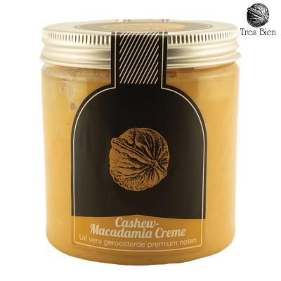 Cashew-macadamia crème