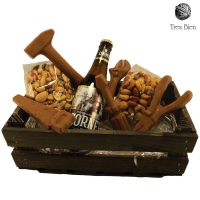 Foto van Kerstpakket - Chocolade gereedschapspakket