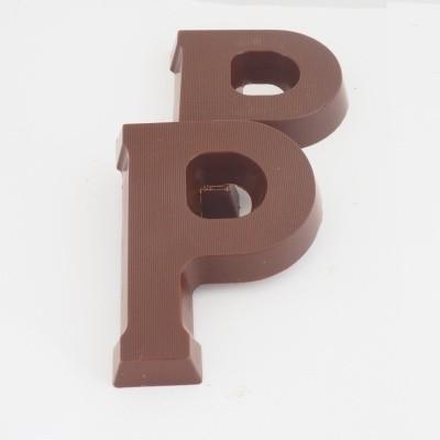 Foto van Chocoladeletter Puur klein