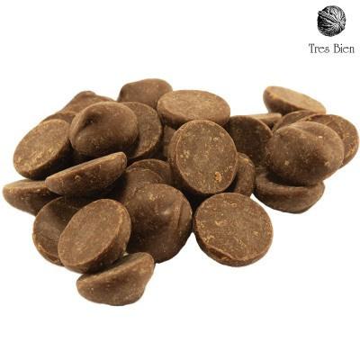 Druppels chocolade puur (70%)
