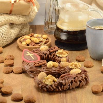 Foto van Chocolade Spuitletter melk
