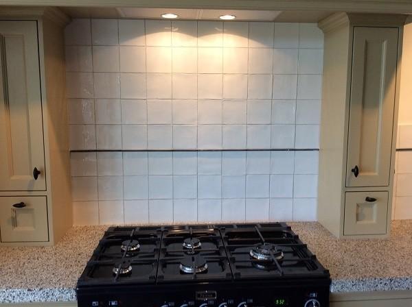 Tegels Keuken Witte : Witte wandtegels in keuken tegelcentrum siddeburen
