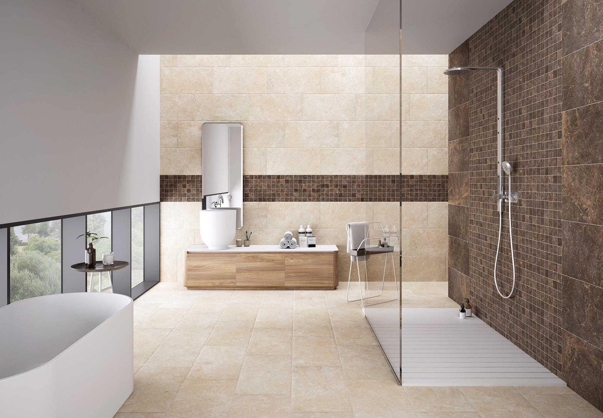Vloertegel badkamer