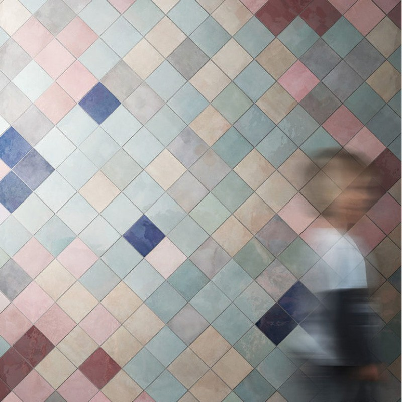 Gekleurde tegels Tegelcentrum Siddeburen