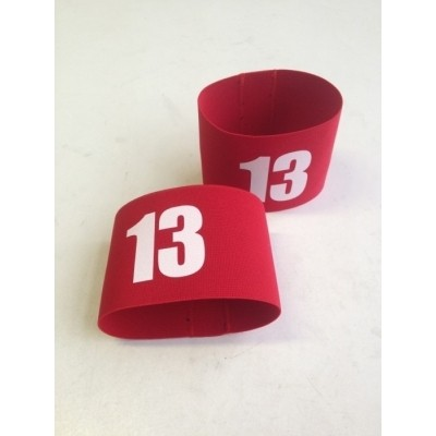 Armbands with number