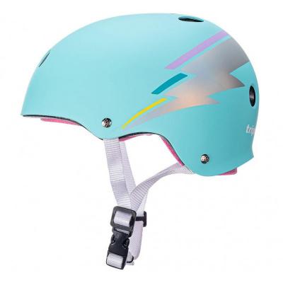Foto van Triple Eight helmet - Teal Hologram