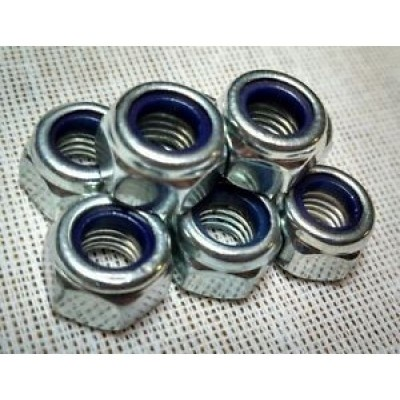 Axle nut 7mm Mertric