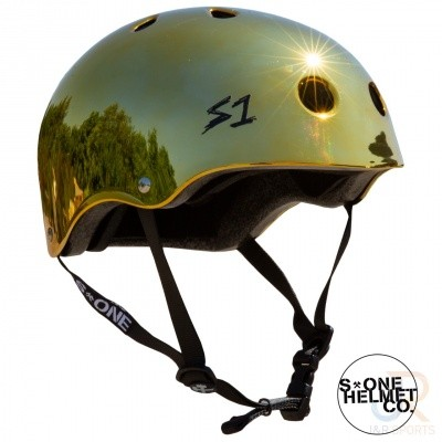 Foto van S1 Lifer Helmet GOLD MIRROR