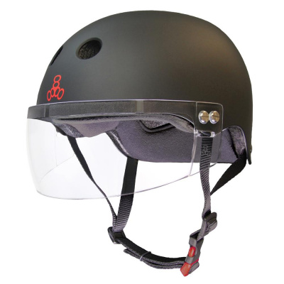 Foto van Triple 8 Sweatsaver Dual Certified Visor helmet