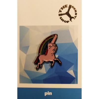 Pin unicorn rainbow