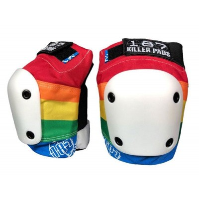 Foto van 187 Killer Pads Slim Knee - rainbow