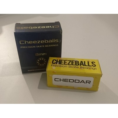 Foto van Cheezeballs Cheddar bearings