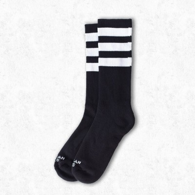 American Socks - Mid high - Black