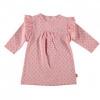 Afbeelding van B.E.S.S Baby Jurk girls flower ruffles pink