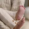 Afbeelding van Legging rib 'wild at heart' Feetje girls offwhite melange