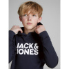 Afbeelding van Ecorp logo hoodie Jack&Jones boys navy blazer
