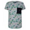Afbeelding van T-shirt leaves IBJ boys medium grey melange