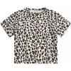 Afbeelding van Leopard loose t-shirt Your Wishes girls terra