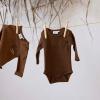 Afbeelding van Longsleeve 'cool adventure' Feetje boys brown melange