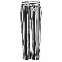 Foto van Broek stripe IBJ girls black/white