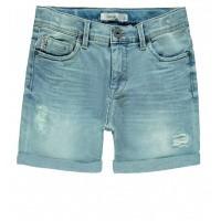 Foto van Sofus Athan jeans short Name It mini boys light blue