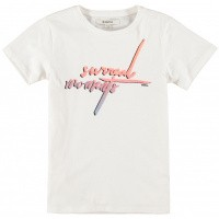 Foto van T-shirt Garcia girls off white