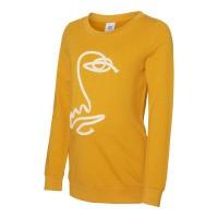 Foto van Tappa sweater Mamalicious golden yellow