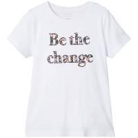 Foto van Raiza t-shirt Name It kids girls bright white