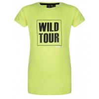 Foto van Shirt Tour IBJ girls fresh lime