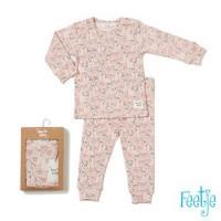 Foto van Pyjama Laura lama Feetje pink
