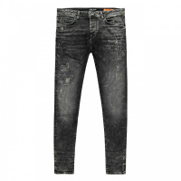 Foto van Aron damage jeans Cars boys black used