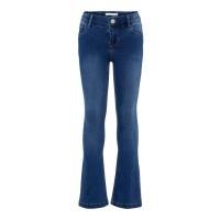 Foto van Polly Indigo bootcut jeans Name It mini girls dark blue