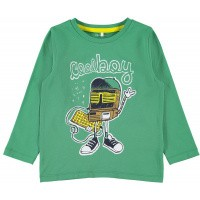Foto van Botta shirt ls Name It mini boys leprechaun