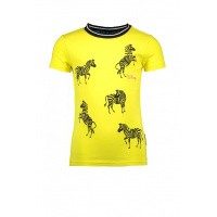 Foto van B.nosy Shirt Zebra girls lemon