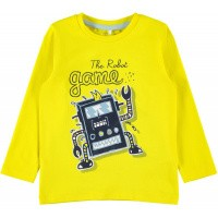Foto van Botta shirt ls Name It mini boys empire yellow