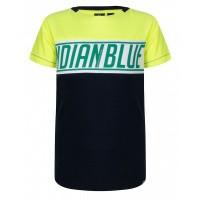 Foto van T-shirt IBJ bright lime boys