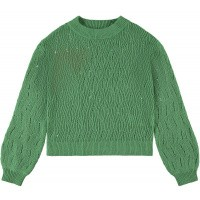 Foto van Kikki knit trui LMTD girls frosty spruce