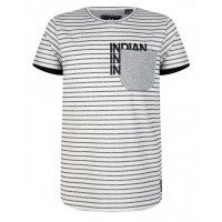 Foto van Stripe Shirt IBJ boys white