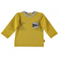 Foto van B.E.S.S Baby Shirt Pocket boys ocre