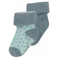Foto van Dot 2pck sokken Noppies dark green