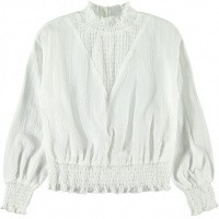 Foto van Sassa blouse Name It kids girls snow white